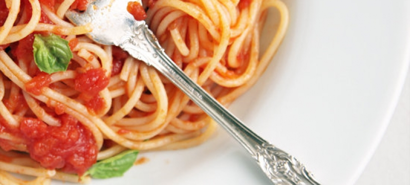 "<a href=""http://www.eatnaturalfoods.com/spicy-spaghetti-sauce/"">Spicy Spaghetti Sauce</a><span><p>The secret ingredient that makes this meatless sauce meaty is none other than. CASHEWS NUTS (Ummm)</p> </span>"